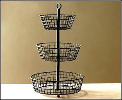two tier fruit basket stand two tier fruit basket 2 tier wire fruit basket two tier