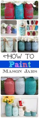 jar crafts home easy diy: these are adorable mason jar project ideas painting glass is easy