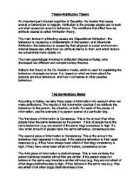 attribution theory essays attribution theory essays and  attribution theory essays academic editing servicesattribution theory research paper starter enotes com