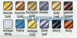 Details About Amaco Rub N Buff Wax Metallic Finish For Crafts All