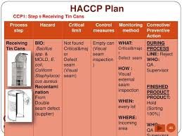 Haccp Plan Template In 2019 How To Plan Food Tech Templates