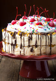 Mexican Fried Ice Cream Cake A Spicy Perspective
