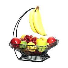 fruit basket for kitchen counter fruit basket bowl with banana hook kitchen countertop fruit storage kitchen