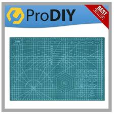 600 x 450 a2 cutting mat with white line cut pad board self healing