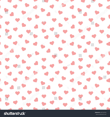 Heart Pattern Beauteous Seamless Heart Pattern Background Stock Vector Royalty Free