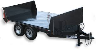 dump trailers for by appalachian trailers appalachian special flatbed dump trailers