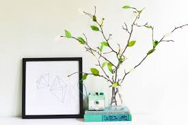 Paper Flower Branches Diy Crepe Paper Leaf Branches