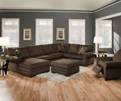 wall color for brown furniture. Living Room Decorating Ideas With Brown Sectional Wall Colors Furniture Accent For Dark Visi Build 3d 1 Color O
