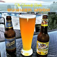 the summer moon beer recipe bines two great citrus beers for the perfect summer beer l