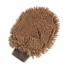 Rurri <b>Перчатка для груминга</b> коричневая купить по выгодной цене ...