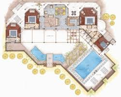 Floor Plans   Vacation Home InteriorsSea Glass Villa St  Croix  US Virgin Islands
