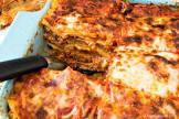 meatball lasagna bake