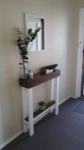 Lovable Narrow Console Table For Hallway And Best 25  Ideas Only On Home Design Rustic Centralazdining
