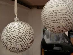 Paper Mache Decorating Loving City Living Diy Paper Mache Christmas Ornaments