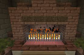 Easy Working Fireplace  Minecraft  Redstone  Tutorial  For Fireplace In Minecraft