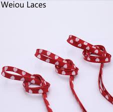 2019 Weiou Digital <b>Print</b> Sublimated Shoelaces Flat <b>Printed</b> Red ...