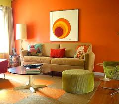 Orange And Brown Living Room Accessories Captivating Decorating Ideas For Small Living Rooms On A Budget