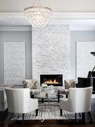 white modern and elegant focal point