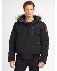 Canada Goose. Men s Black Borden Bomber Jacket