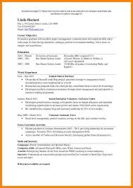 7 sample one page resume offecial letter