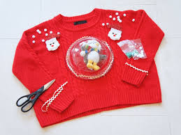 step 2 diy ugly sweater