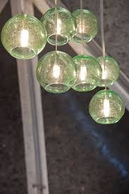 blown recycled glass eco globe pendants at diffa s dining by design