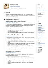 Sample Server Resume 24 Restaurant Server Resume Samples ResumeViking 12