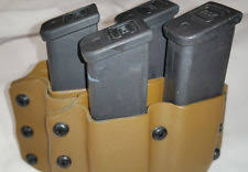 1911 Kydex Magazine Holders 100 Magazine Pouch Fits Sig P100 100acp Mags Black or Coyote Brown 66