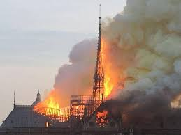 Image result for notre dame burns