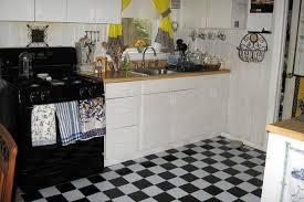 black and white tile floor kitchen. Black And White Tile Floor Kitchen Home Round Ceramic