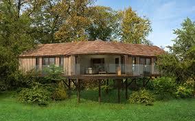 Tree House Bure  Accommodation Fiji  Mantaray Island ResortTreehouse Accommodation