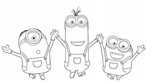 Free Minion Coloring Pages To Print