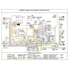 ford wiring diagram, fully laminated poster kwikwire com Wireing Diagram Wireing Diagram #58 wiring diagram quiz