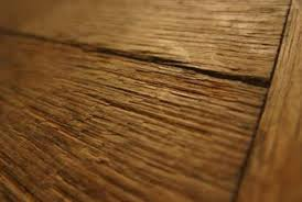 wood floors are constantly expanding and contracting so gaps may be more noticeable during dry conditions