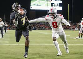College Football Purdue Routs Second Ranked Ohio State The New