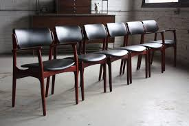 mid century modern chrome leather chair mid century teak dining room set leather mid century modern chairs