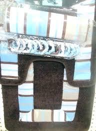 brown and blue bathroom rugs stripe bath mats set rug slate brown and blue bathroom rugs