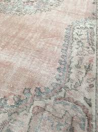 T Vintage From 1920s1930 It Is A Sivas Rug Turkey With Special  White Wash Effect It Amazing To See How The 2 Pantone Colors Of Year Were