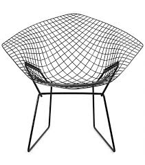 bertoia diamond chair sillón outdoor knoll