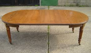 victorian oak dining table 8ft round extending victorian oak dining table by maple co