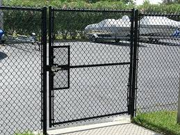 chain link fence parts. Cyclone Fence Black Chain Link Gates Gate Types And Installation Parts