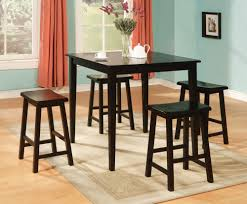 Contemporary Pub Table Set Stylish Decoration Pub Dining Table Set Astounding Design Espresso