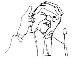 donald trump drawing at getdrawings