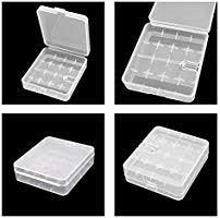 Whizzotech <b>18650 Battery Case</b> Battery Storage Box Holder ...