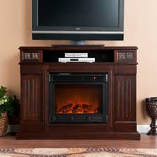 holly martin clifton media electric fireplace espresso