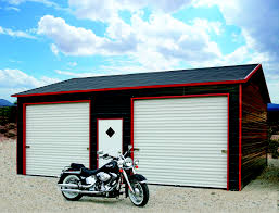 Free garage building plans detached wholesale Loft 2 24x31x9 Boxed Eave Style Roof Wholesale Direct Carports Enclosed Garage Customization Options Wholesale Direct Carports