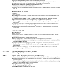 Impressive Team Leader Resume Sample Project Production Cv ...
