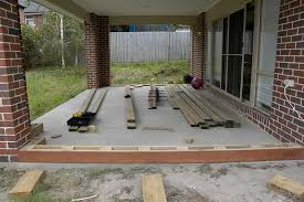 view topic can u deck over existing concrete slab home renovation building forum