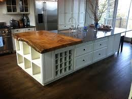 live edge kitchen island elegant natural wood slabs real of countertops bar brooks custom
