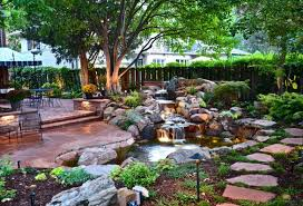 Small Picture 75 Relaxing Garden And Backyard Waterfalls DigsDigs